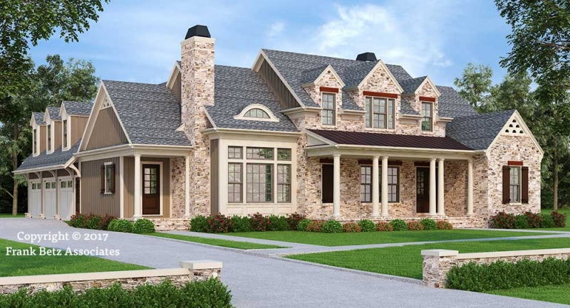 TUXEDO PARK Traditional House Plans