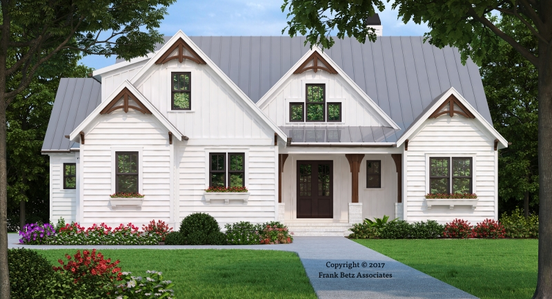 HICKORY FLAT Craftsman Style House Plans