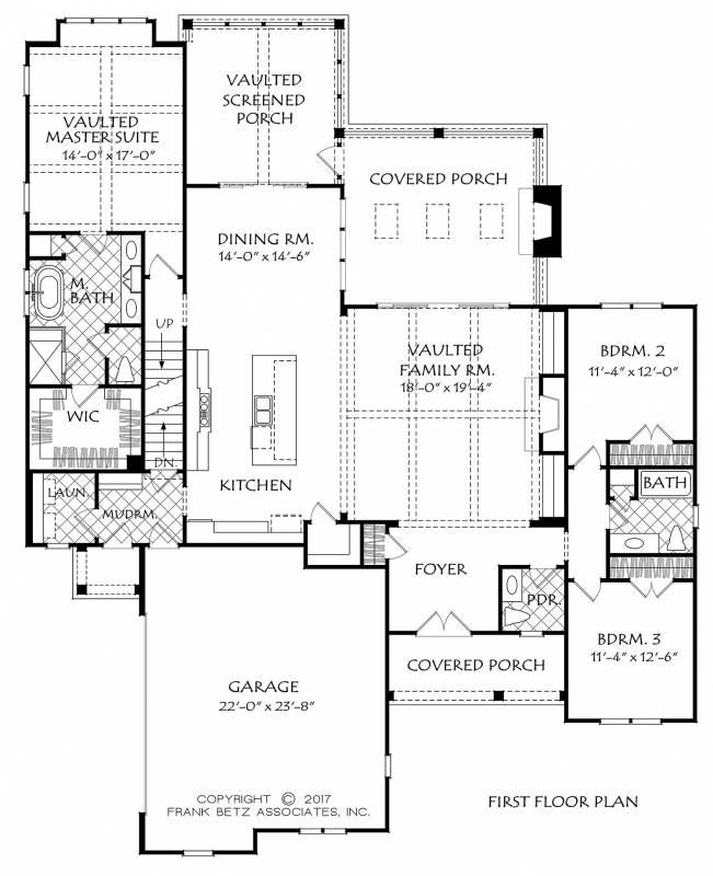 Hickory flat house floor plan frank betz associates for Frank betz floor plans