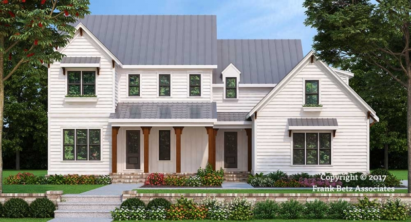 Frank betz house plans with porches for Summerlake house plan