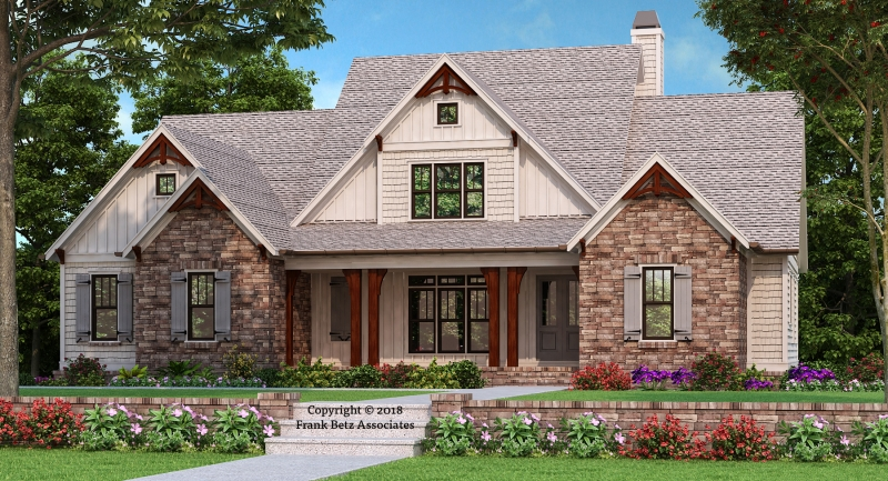 Cedar Bluff House Plan