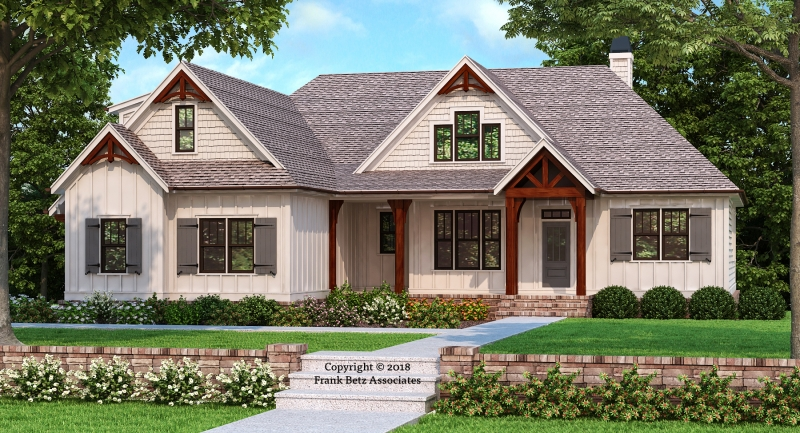HEMLOCK FALLS Cottage House Plans