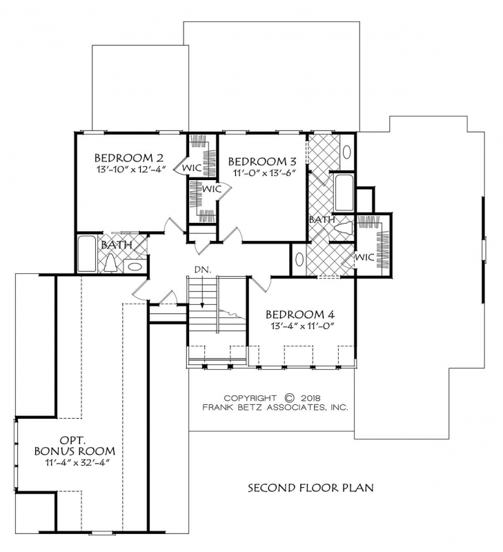 Huddleston House Plan