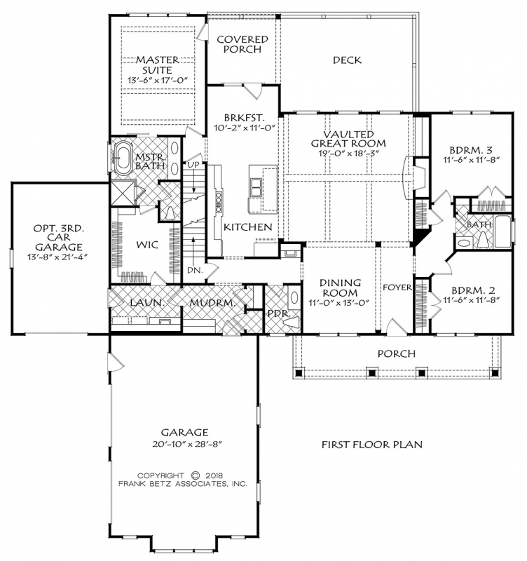 Astoria Mill House Plan