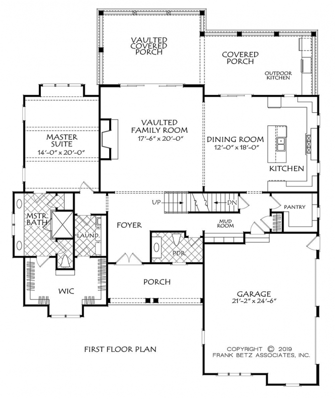 Devereux Downs House Plan