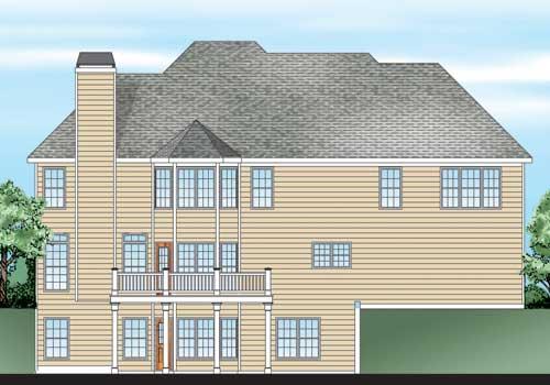 Carmichael House Floor Plan Frank Betz Associates
