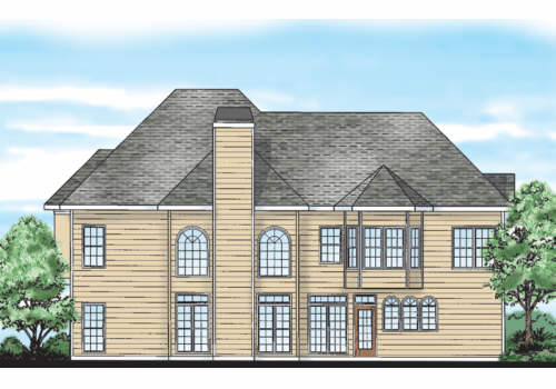 Jessica House Plan Rear Elevation