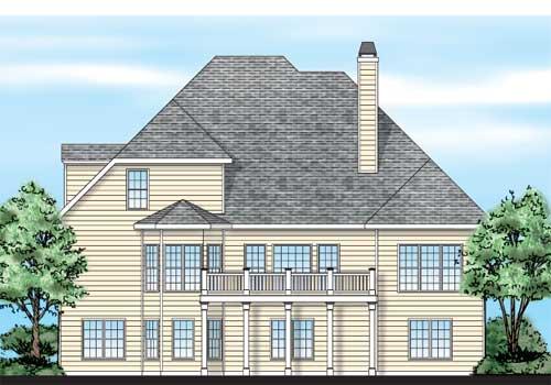 Balmoral House Floor Plan Frank Betz Associates