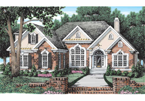 Cassidy home plans and house plans by frank betz associates for Frank betz house plans