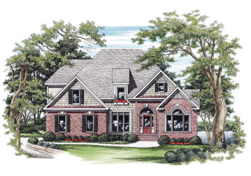 Abington House Plan Elevation