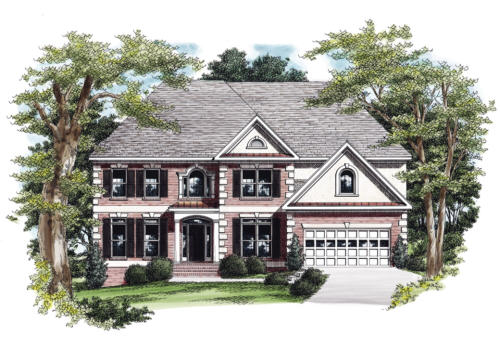 elevation - Luxury House Plans