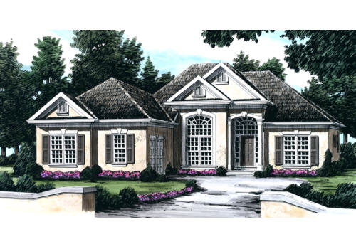 Bagwell House Plan Elevation