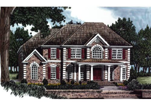 Ballantine House Plan Elevation