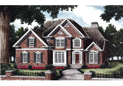 French Colonial House Plans Frank Betz Associates