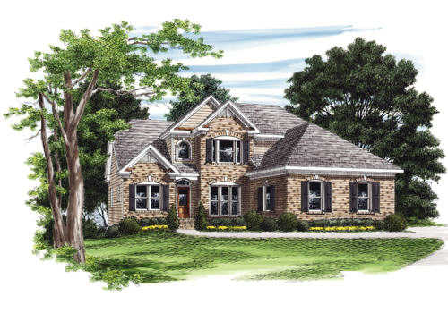 Bay Pointe House Plan Elevation
