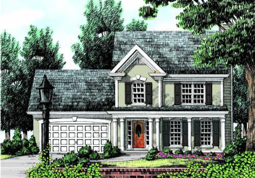 The camden house plan