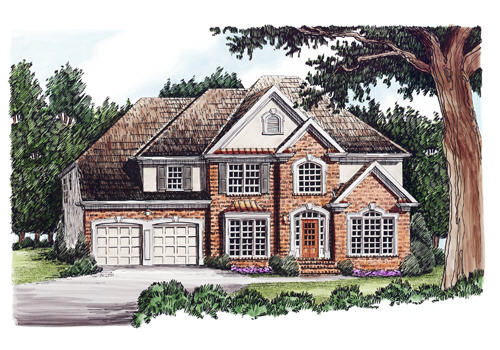 Christian House Plan Elevation