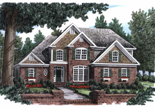 CRESTWOOD PLACE Southern Living House Plans