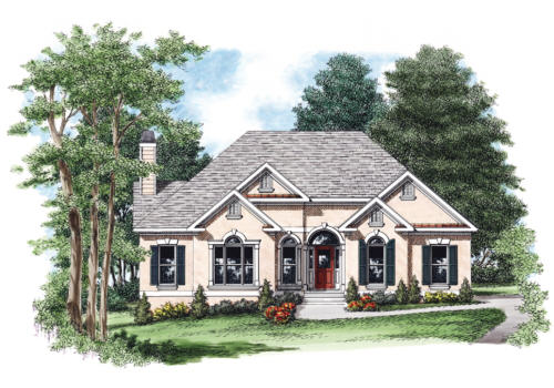 Cypress House Plan Elevation