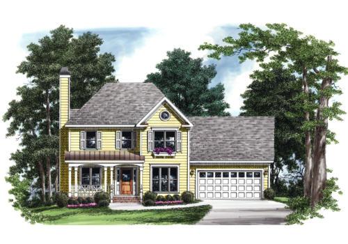 FOXHALL House Floor Plan | Frank Betz Associates
