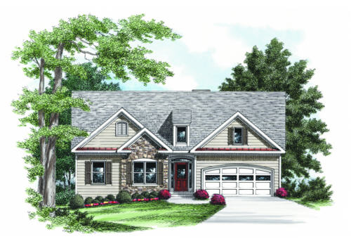 HARMONY GROVE Traditional House Plans