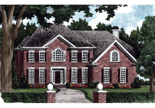 Hastings House Plan Elevation