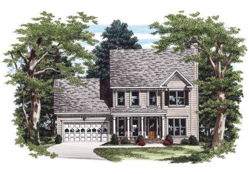 Hembree House Plan Elevation
