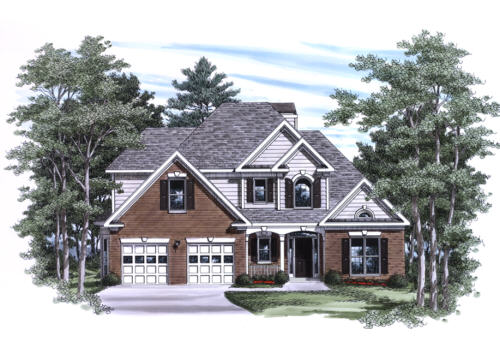 Hillsdale House Plan Elevation