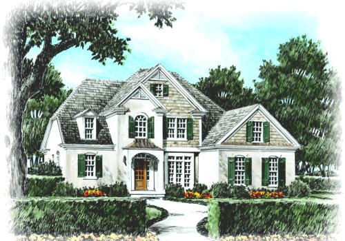 HOLLY HILL Southern Living House Plans