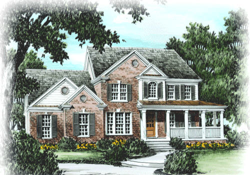 JACKSON SPRINGS Southern Living House Plans