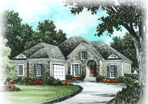 LANGSTON Southern Living House Plans