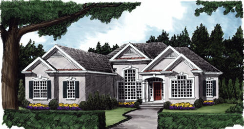 Lauderdale House Plan Elevation