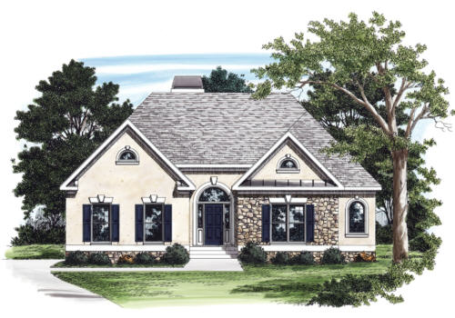 Marcus House Plan Elevation