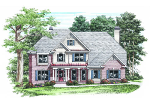 Mckendree House Plan Elevation