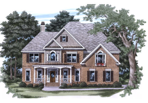 Memphis House Plan Elevation