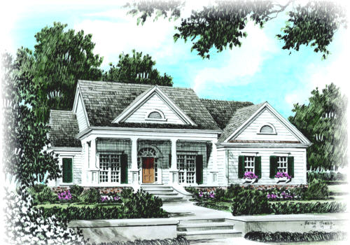 New Albany Home Plans And House Plans By Frank Betz