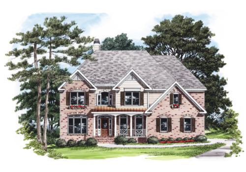 Panola House Plan Elevation