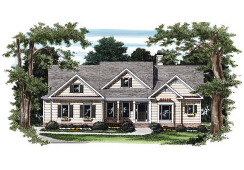 Portland House Plan Elevation