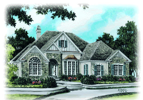 SANDERSON PLACE Southern Living House Plans