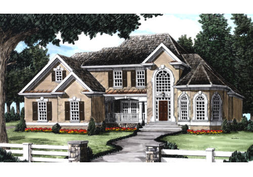 Shelby House Plan Elevation