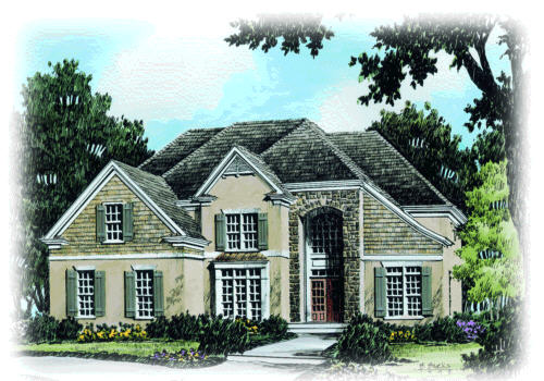 SHERIDAN SPRINGS Southern Living House Plans