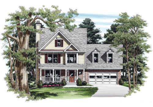 Spivey House Plan Elevation