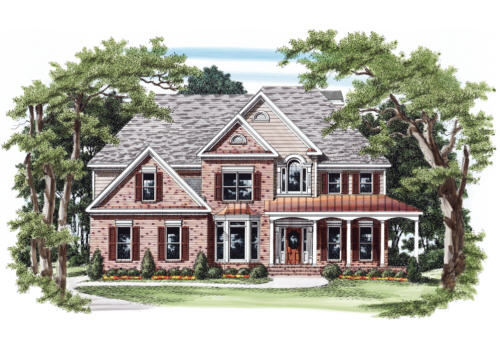 Stilesboro House Plan Elevation