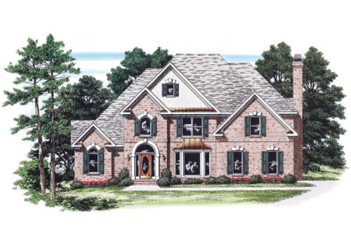 Toliver House Plan Elevation