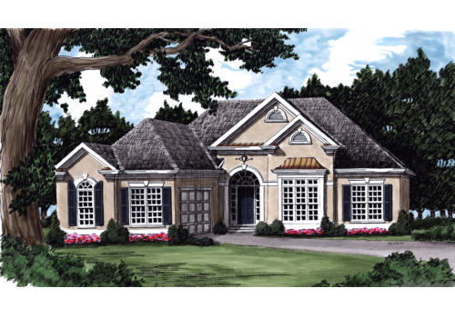 Vermont House Plan Elevation
