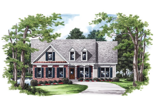 Vickery House Plan Elevation