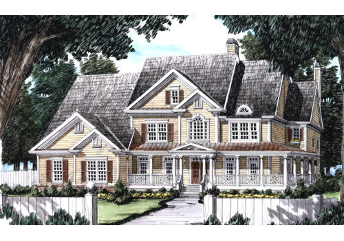 Westmoreland House Plan Elevation